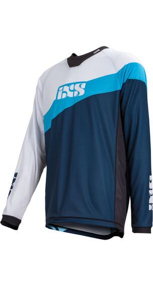 IXS Race 7.1 DH Longsleeve Jersey Men light blue/night blue